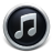 Black iTunes 10 Icon