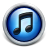 Blue iTunes 10 Icon