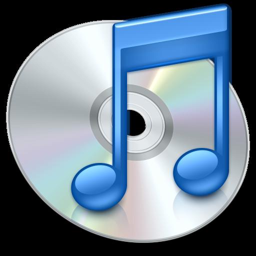 iTunes Blue Icon - iTunes Icons - SoftIcons.com