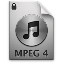 iTunes MPEG4P 2 Icon