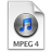 iTunes MPEG4 3 Icon