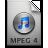 iTunes MPEG4 4 Icon