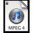 iTunes MPEG4P 3 Icon