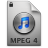 iTunes MPEG4P 4 Icon