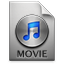 iTunes Movie 4 Icon 64x64 png