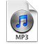 iTunes MP3 3 Icon 64x64 png