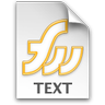 Fireworks TXT Icon 96x96 png