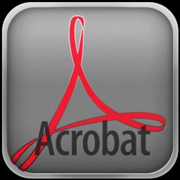 Adobe CS5 Acrobat Icon 256x256 png