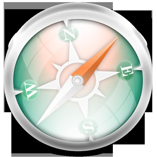 Safari Green Icon 512x512 png