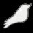 Songbird White Icon
