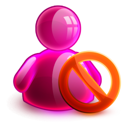 Blocked Girl Icon 256x256 png