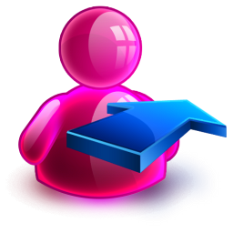Rightback Girl Icon 256x256 png