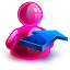 Rightback Girl Icon 64x64 png