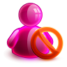 Blocked Girl Icon 96x96 png