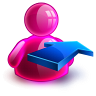 Rightback Girl Icon 96x96 png