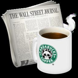 Newsreader Pandabucks Icon 256x256 png
