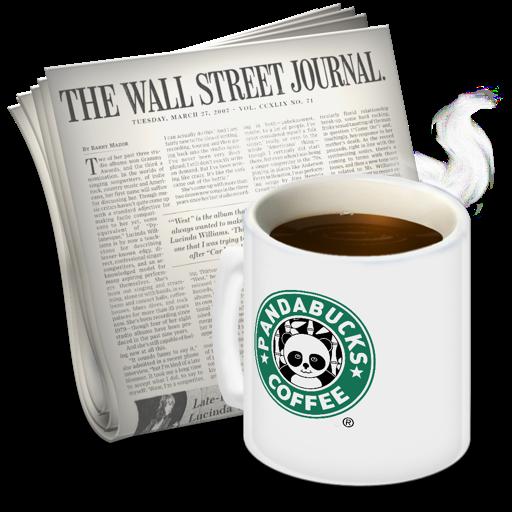 Newsreader Pandabucks Icon 512x512 png