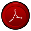 Adobe Acrobat Reader 8 Icon 128x128 png