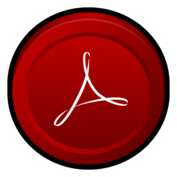 Adobe Acrobat Reader 8 Icon 256x256 png