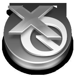 QuarkXPress Grey Icon 256x256 png