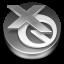 QuarkXPress Grey Icon 64x64 png