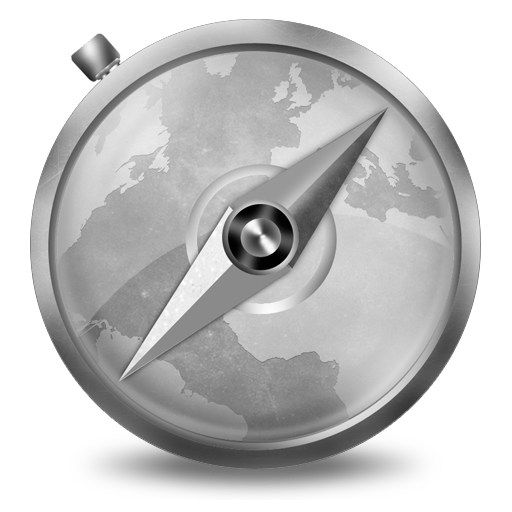 Grey Safari Icon 512x512 png