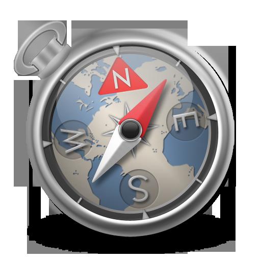 Safari Blue Icon 512x512 png
