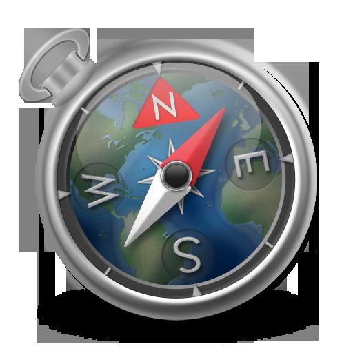 Safari Green-Blue Icon 512x512 png