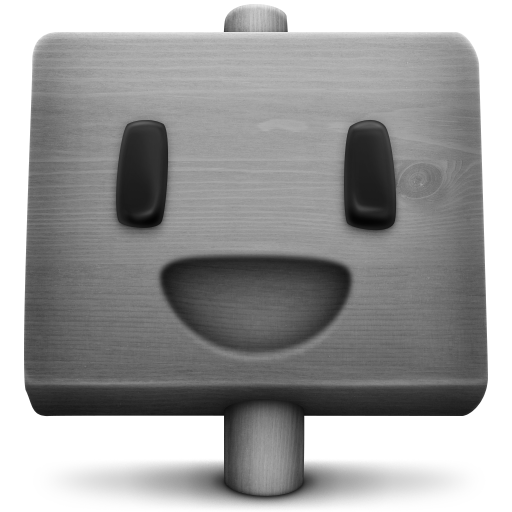 Grey Signder Icon 512x512 png