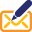 Mail Write Icon 32x32 png