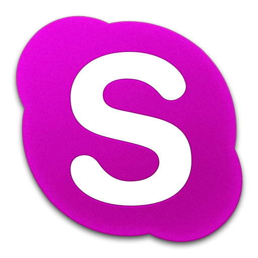 Skype Pink Icon 512x512 png