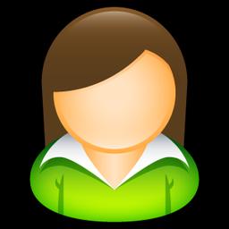 Office Girl Icon Sleek Xp Basic Icons Softicons Com