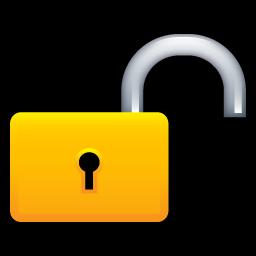 Lock Unlock Icon Soft Scraps Icons Softicons Com