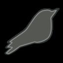 Songbird Grey Icon