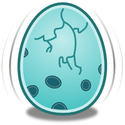 Songbird Egg Icon 256x256 png