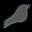 Songbird Grey Icon 32x32 png
