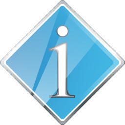 Button Info Icon 256x256 png