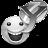 Grey Yahoo Messenger Icon 48x48 png