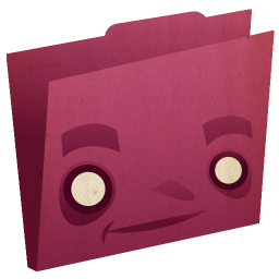 Folder Pink Icon 256x256 png