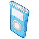 iPod Blue Icon 128x128 png