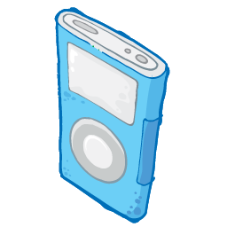 iPod Blue Icon 256x256 png