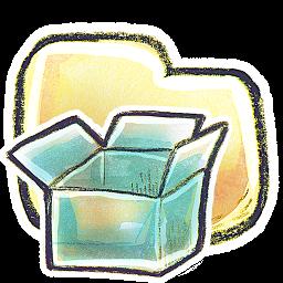 Folder Dropbox Icon 256x256 png