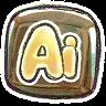 Adobe Illustrator v2 Icon 96x96 png