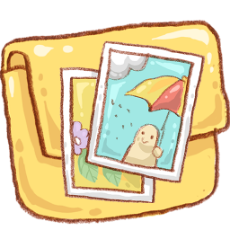 Folder Photo Icon 256x256 png