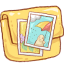 Folder Photo Icon 64x64 png
