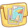 Folder Photo Icon 96x96 png