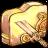 Folder Broken Sword Icon 48x48 png