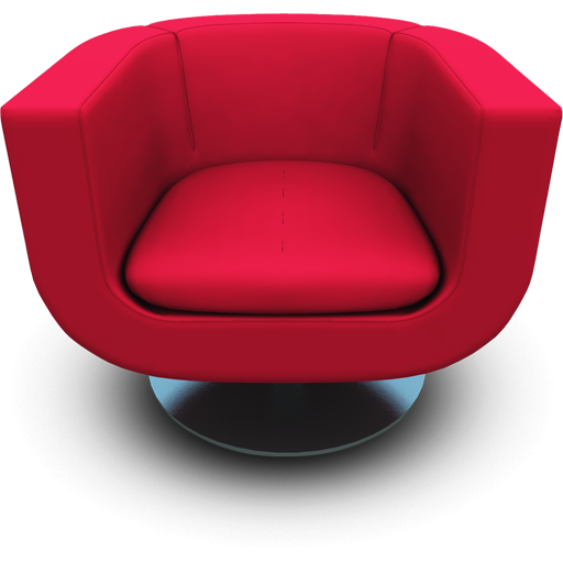 Magenta Seat Icon 512x512 png