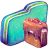 Green Bag Folder Icon