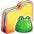 Yellow Froggy Icon